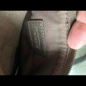 Talbots brown leather crossbody